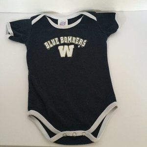 Authentic CGW Sportswear Blue Bombers W One-Piece